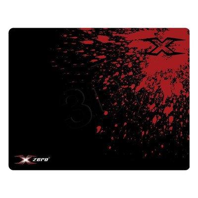 X-ZERO PODKŁADKA POD MYSZ GAMING /440 X 354 X 3 MM/ X-D649 CZARNO-CZERWONA