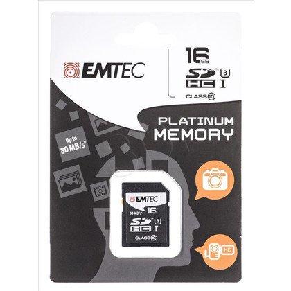 Emtec SDHC ECMSD16GHC10PL 16GB Class 10,UHS Class U3