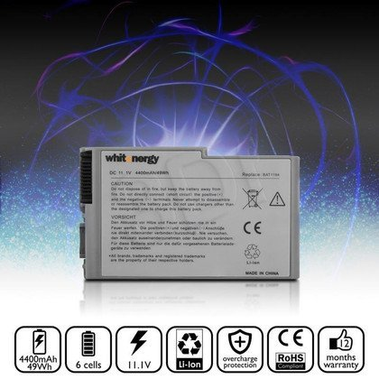 WHITENERGY BATERIA DELL LATITUDE D500/D600