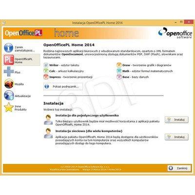 OpenOfficePL Home 2012 OEM