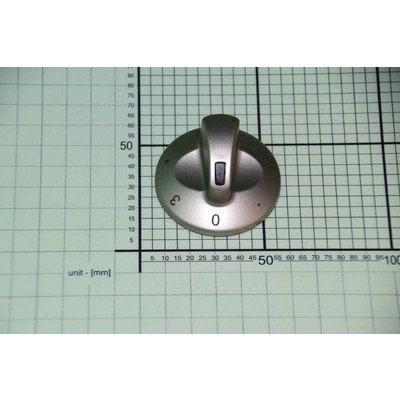 Pokrętło srebrne dawkownika mocy z 3 z prawej strony E610.00/09.1139.01 (9043066)