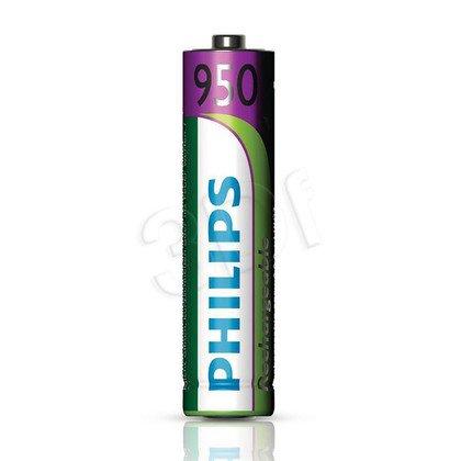 Akumulator Philips R03B2A95/10AAA 950mAh ( 2 szt.; poj. 950mAh )