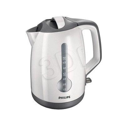 Czajnik elektryczny PHILIPS HD 4649/00 (1,7 l / 2400 W / biało szary)