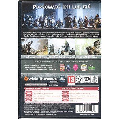 Gra PC Dragon Age Inkwizycja
