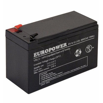 Akumulator EVER Do Ups - Europower 12V 9Ah EV 9-12