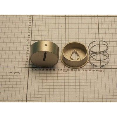 Pokrętło CODE2/09.8339.00 srebrne gazowe (9050609)