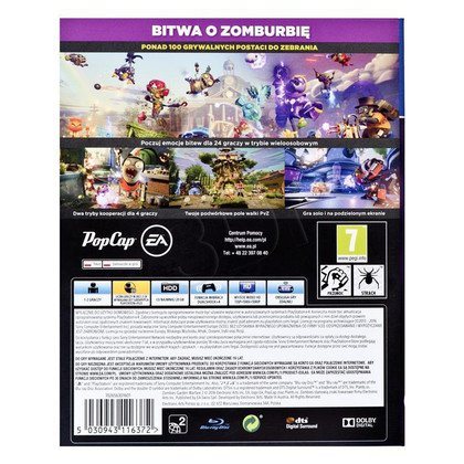 Gra PS4 Plants vs Zombies Garden Warefare 2