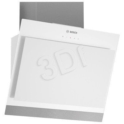 Okap Kominowy Bosch DWK06G620 (Biały 600m3/h 598mm)