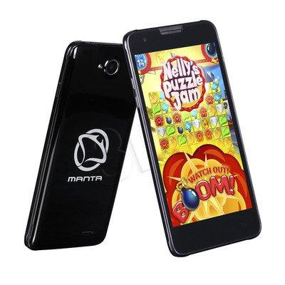 "Smartphone Manta Quad Titan MSP5008 8GB 5"" Czarny"
