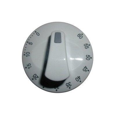 Pokrętło minutnika białe E610.00M/09.5772.01 (8016721)