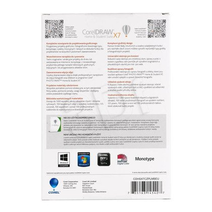 CorelDRAW Home & Student Suite X7 PL/CZ
