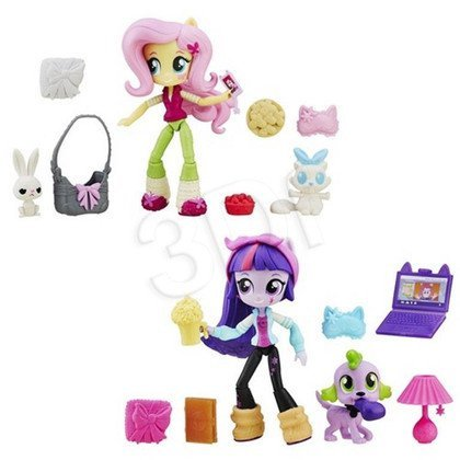 MLP MY LITTLE PONY EQUESTRIA GIRLS MINI LALKI Z AKCESORIAMI HASBRO B4909