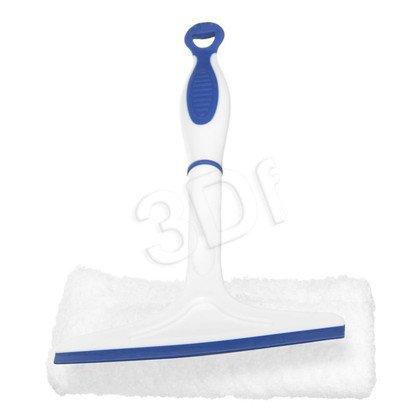 2w1 Ściągaczka i myjka do szyb z nakładką z mikrofibry 20-0041-11 biało-granatowa