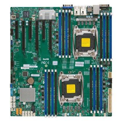 Supermicro Płyta główna serwerowa MBD-X10DRI-O LGA 2011 E-ATX