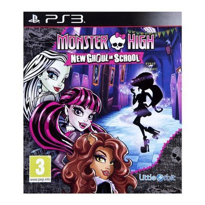Gra PS3 Monster High: New Ghoul In School