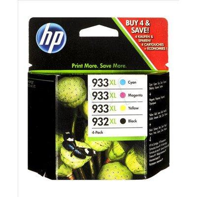 HP Tusz HP932XL+HP933XL=C2P42AE, Zestaw CMYBk, CN053AE+CN054AE+CN055AE+CN056AE