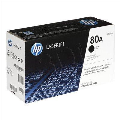 HP Toner Czarny HP80A=CF280A, 2700 str.