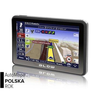 GPS580 SIROCCO 8GB BLOW + AUTOMAPA PL 1 ROK