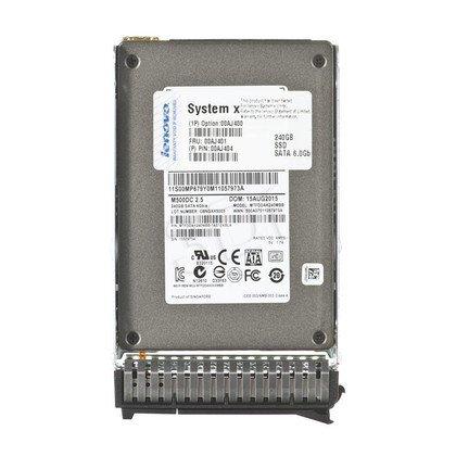 """Dysk SSD LENOVO 2,5"""" 240GB SATA Kieszeń hot-swap 00AJ400"""