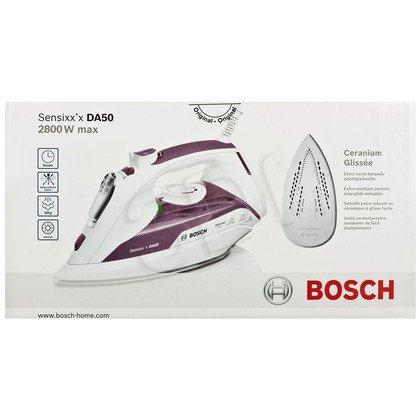 Żelazko Bosch TDA 5028110(2800W /biały-przydymiony róż)