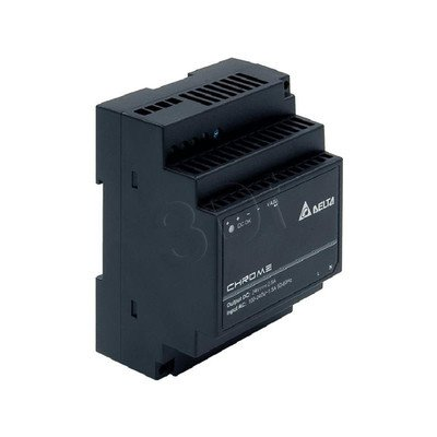 Zasilacz przemysłowy do montażu na szynie DIN DELTA DRC-24V60W1AZ (24V 60W) czarny