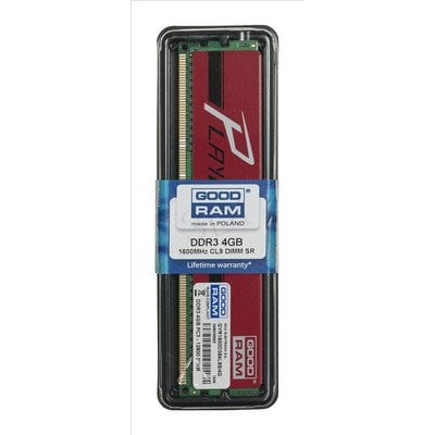 GOODRAM DDR3 PLAY 4GB PC1600 RED CL9 512x8