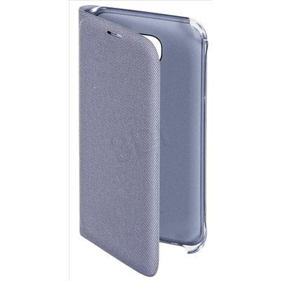 SAMSUNG  FLIP WALLET (FABRIC) DO S6 SREBRNY