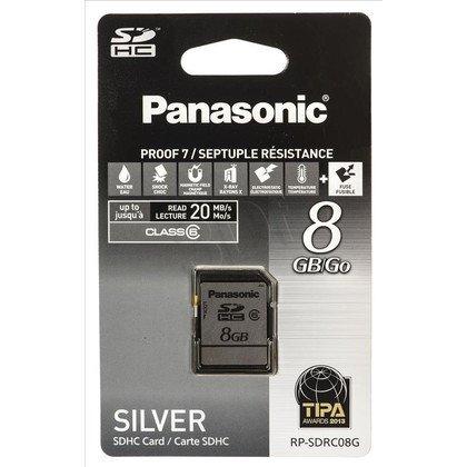 Panasonic SDHC RP-SDRC08G 8GB Class 6