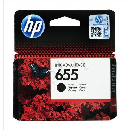 HP Tusz Czarny HP655=CZ109AE, 550 str., 14 ml