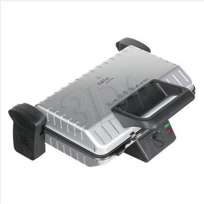 Grill elektryczny Hyundai GRI660 (1600W stołowy-zamykany, srebrno-czarny)