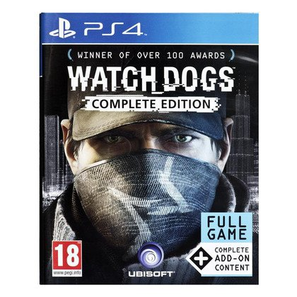 Gra PS4 Watch Dogs Complete