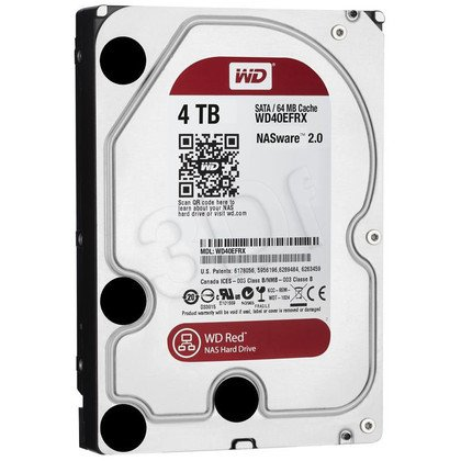 HDD WD RED 4TB WD40EFRX SATA III