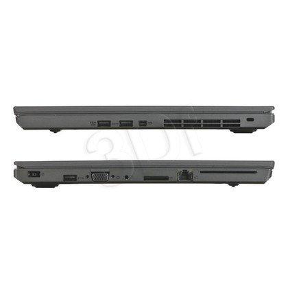 """LENOVO ThinkPad T550 i5-5200U 8GB 15,6"""" FHD 256GB HD5500 Win7P W10P Czarny 20CK003HPB 3Y"""