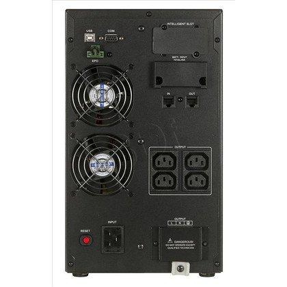 UPS CYBERPOWER OLS2000E (VFI, Tower, 2000VA, 1600W, 5xIEC (5xBackup), FL6min/HL16min, możliwość podłączenia dodatkowych modułów bateryjnych)