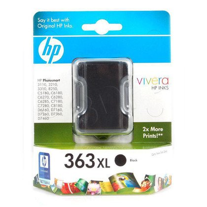 HP Tusz Czarny HP363XL=C8719EE, 800 str., 17 ml