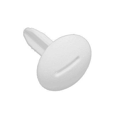 Zaślepka sworznia zawiasu chłodziarki, biała (2063364018)