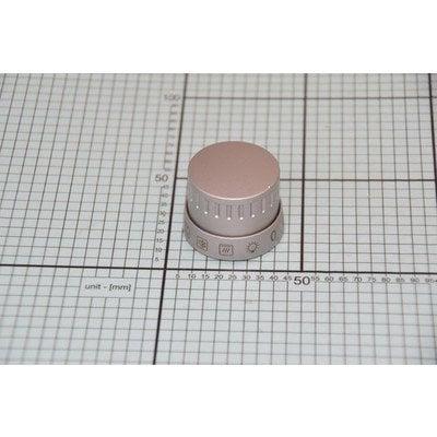 Pokrętło funkcji piekarnika scandium A 10609 inox ze sprężyną (9062655)