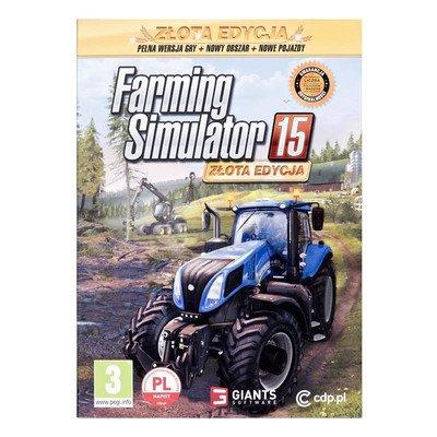 Gra PC Farming Simulator 2015 - Zlota Edycja