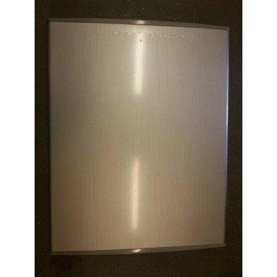Drzwi zamrażarki srebrne (1030349)