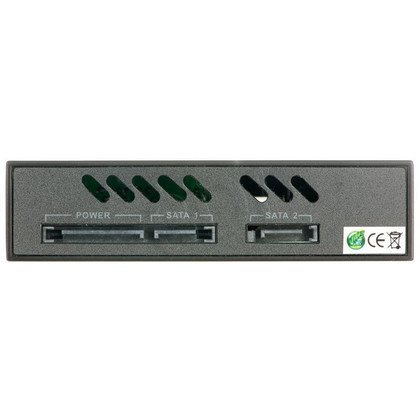 "BACKPLANE CHIEFTEC ATM-1322S SATA - 3,5"" -> 2 x 2,5"" HDD"