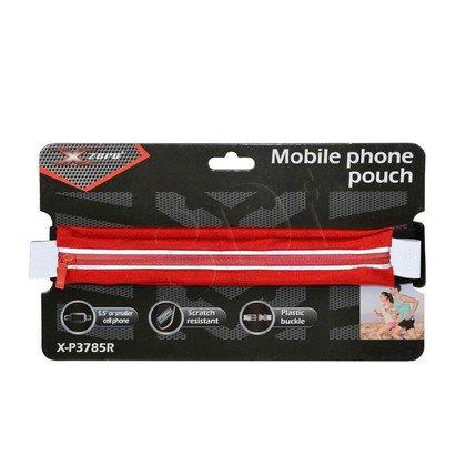 """X-ZERO PAS SPORTOWY NA TELEFON MAX. 5,5"""" X-P3785R CZERWONY"""
