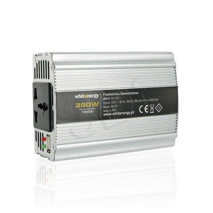PRZETWORNICA SAMOCHODOWA DC 12V-AC 230V 350W Z USB