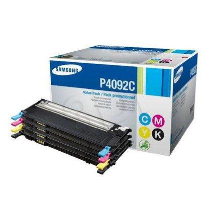 SAMSUNG Toner CLTP4092C=CLT-P4092C, Zestaw CMYK CLT-C4092S+CLT-M4092S+CLT-Y4092S+CLT-K4092S