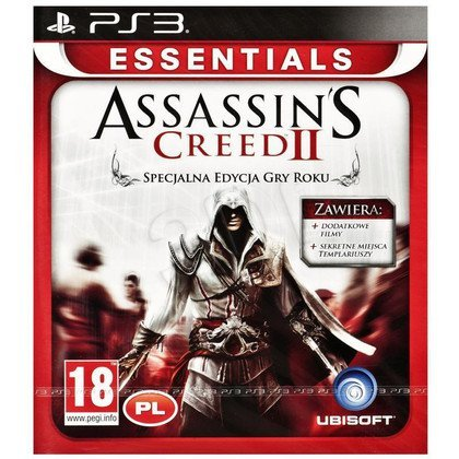 Gra PS3 Assassins Creed II GOTY Essentials