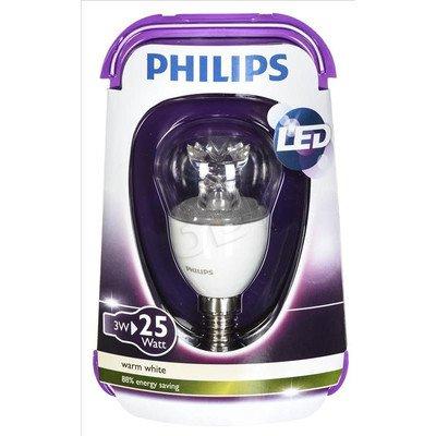 Philips żarówka LED 8718291743439 (kulista 250lm 3W E14 ciepła biel)