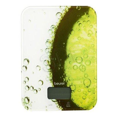 Waga Kuchenna Beurer KS 19 fresh (biało-zielony z nadrukiem)