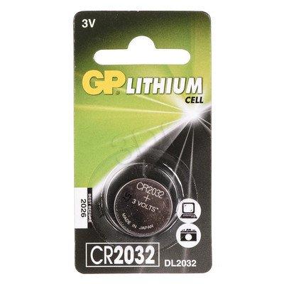 GP Bateria guzikowa CR2032 blister 1szt.