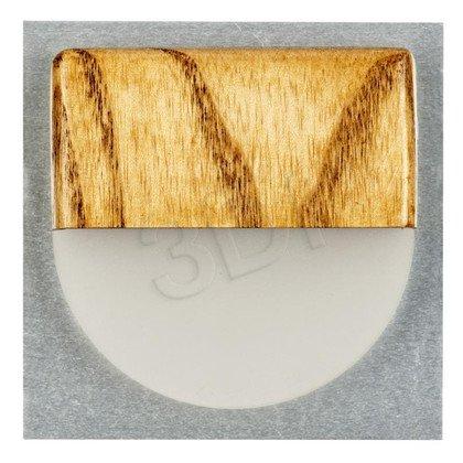 ACJ Oprawa LED AJE-WSOB3L75WO, dąb, owal
