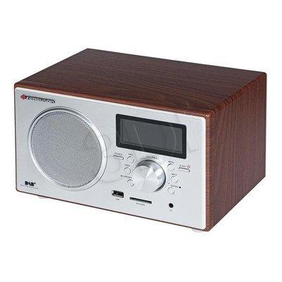 Radio przenośne Ferguson DAB+100 srebrno-brązowy