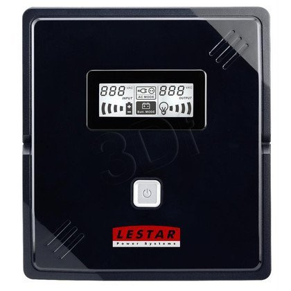 LESTAR UPS V-1000F AVR LCD 2XIEC+2FR